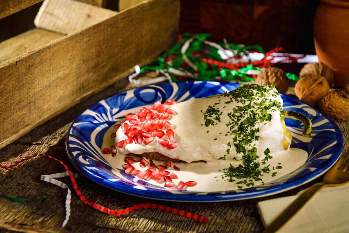 Рецепты Мексиканской кухни, перцы чили ногада