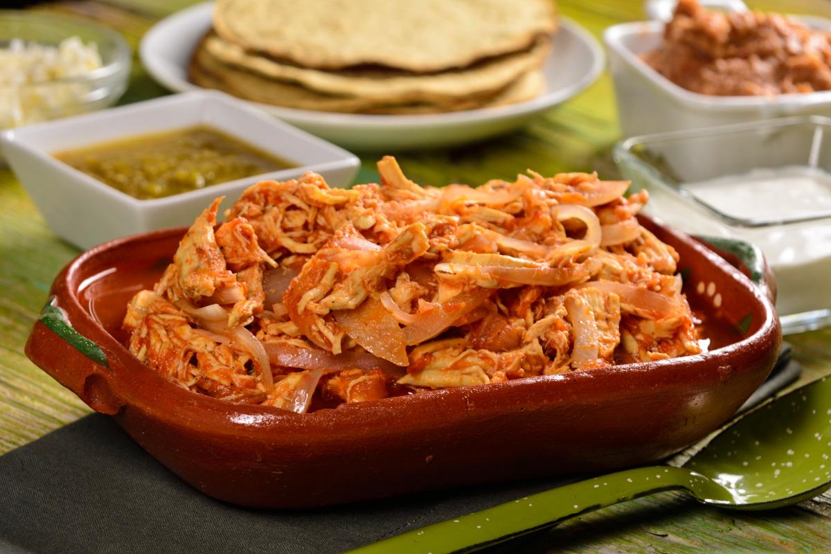 Рецепты Мексиканской кухни, такос с курицей