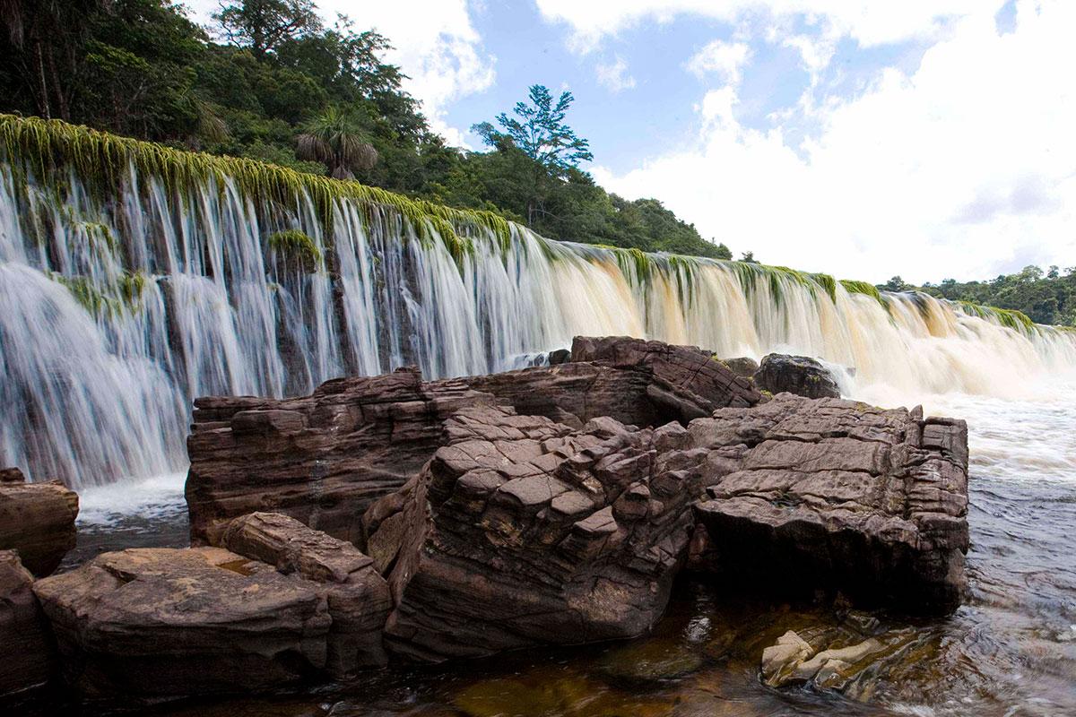 Туры в Венесуэлу, Национаьный парк Канайма