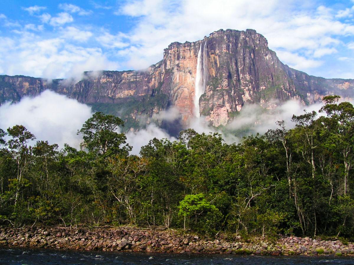 Туры в Венесуэлу, Национальный Парк Канайма