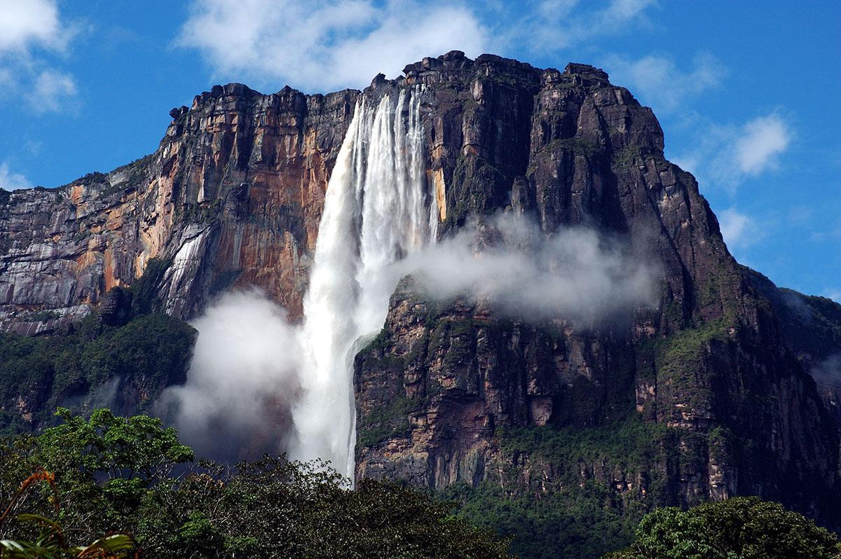 Достопримечательности Венесуэлы, Водопад Сальто Анхель