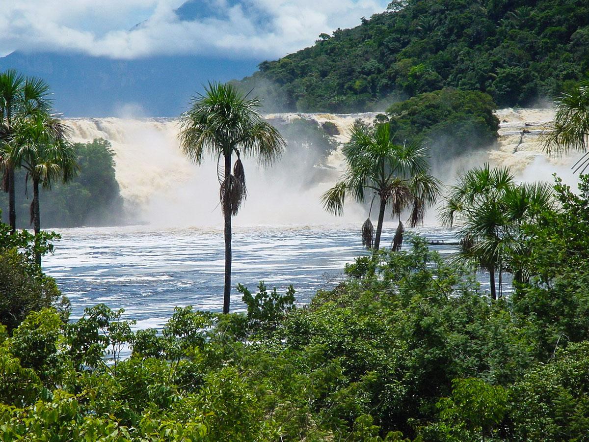 Национальный Парк Канайма, Туры в Венесуэлу