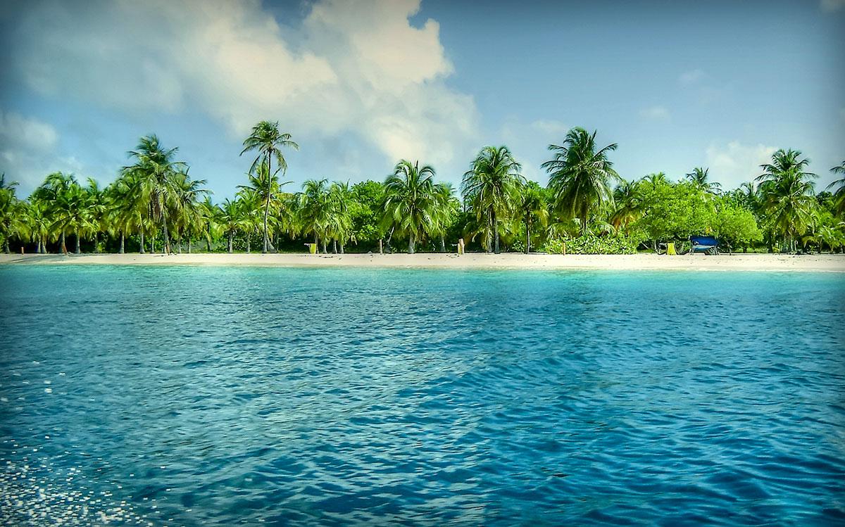 Острова Венесуэлы, Карибское море