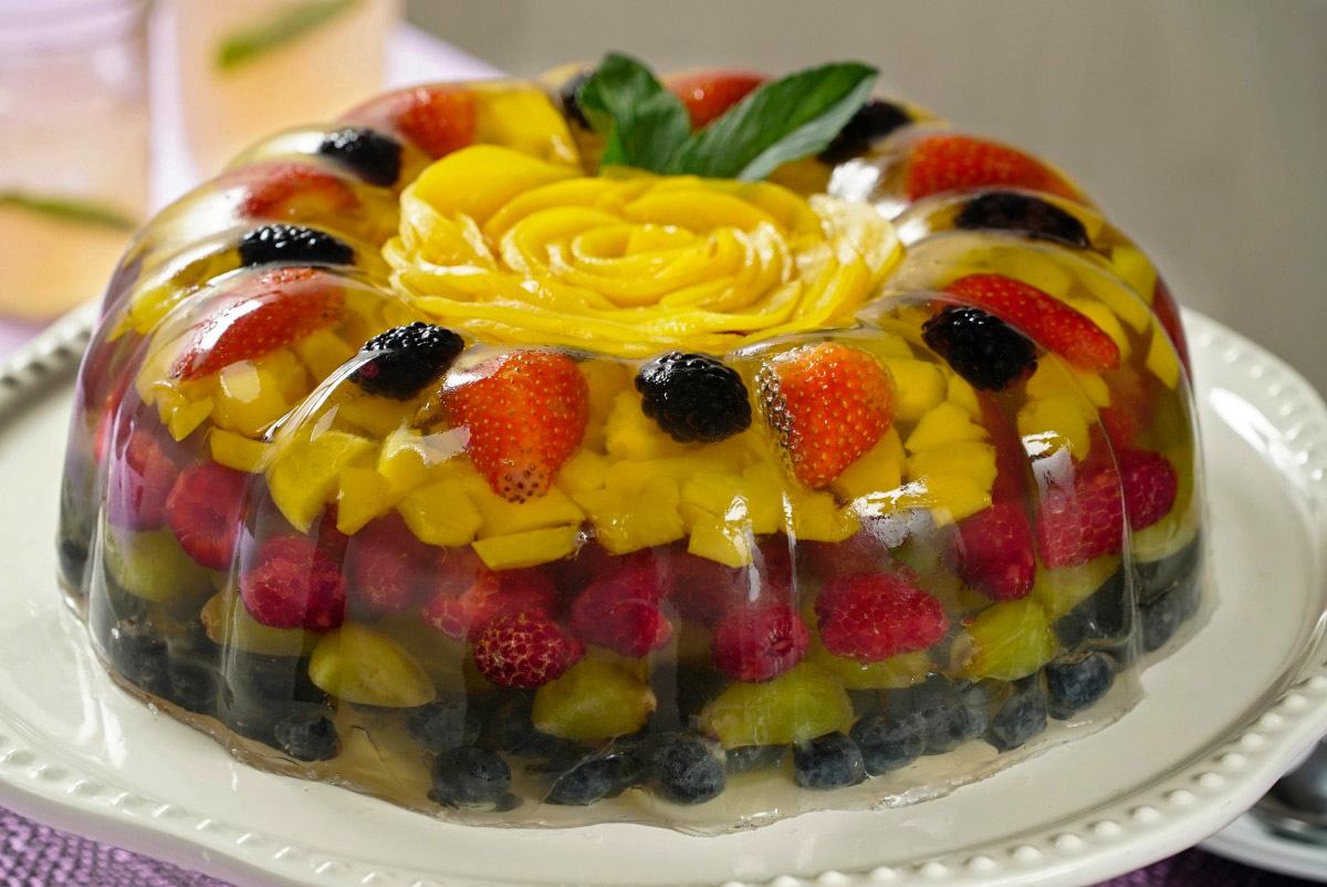 заливное фруктовое рецепты с фото нашем сайте