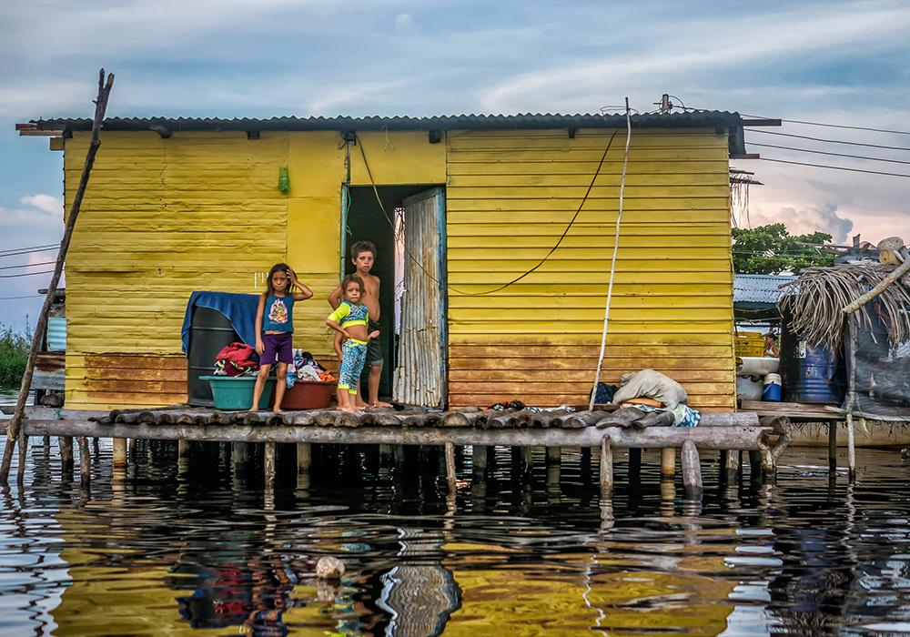 Маракайбо — самое большое озеро Южной Америки